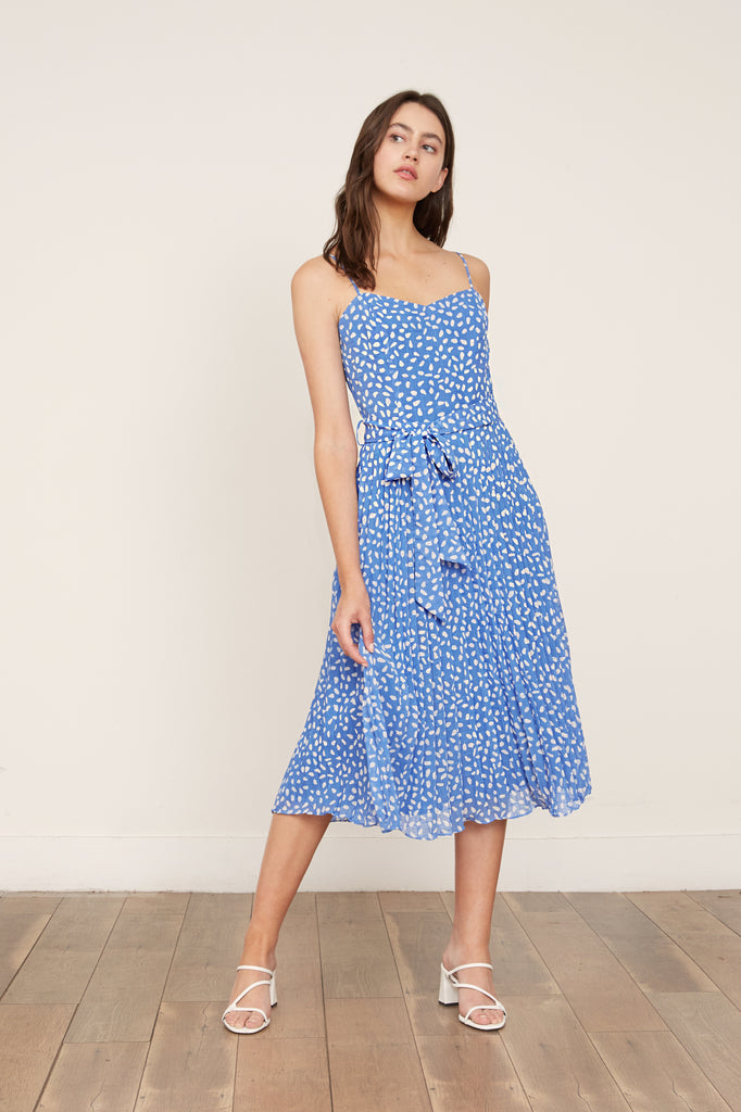 LUCY PARIS - Tatiana Polka Dot Dress