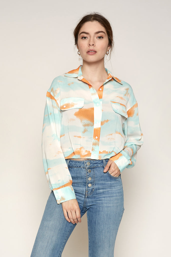 LUCY PARIS - Tyler Tie Dye Top