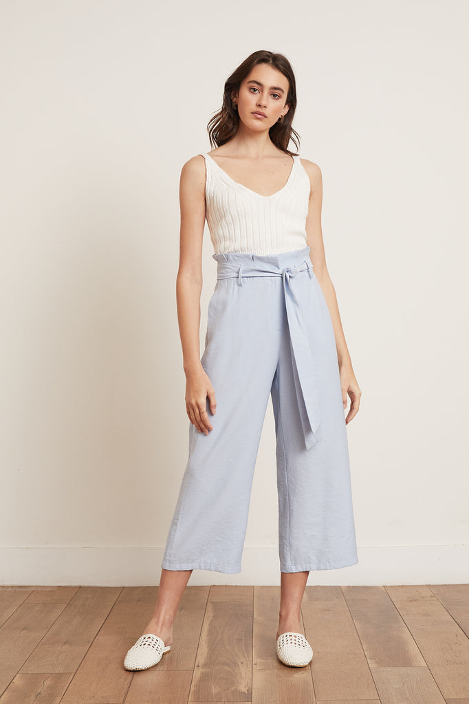 Lucy Paris - Whitney Belted Pant