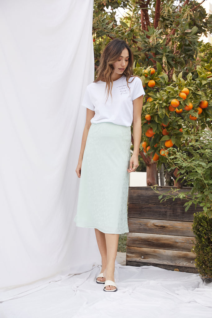 Riley Bias Skirt