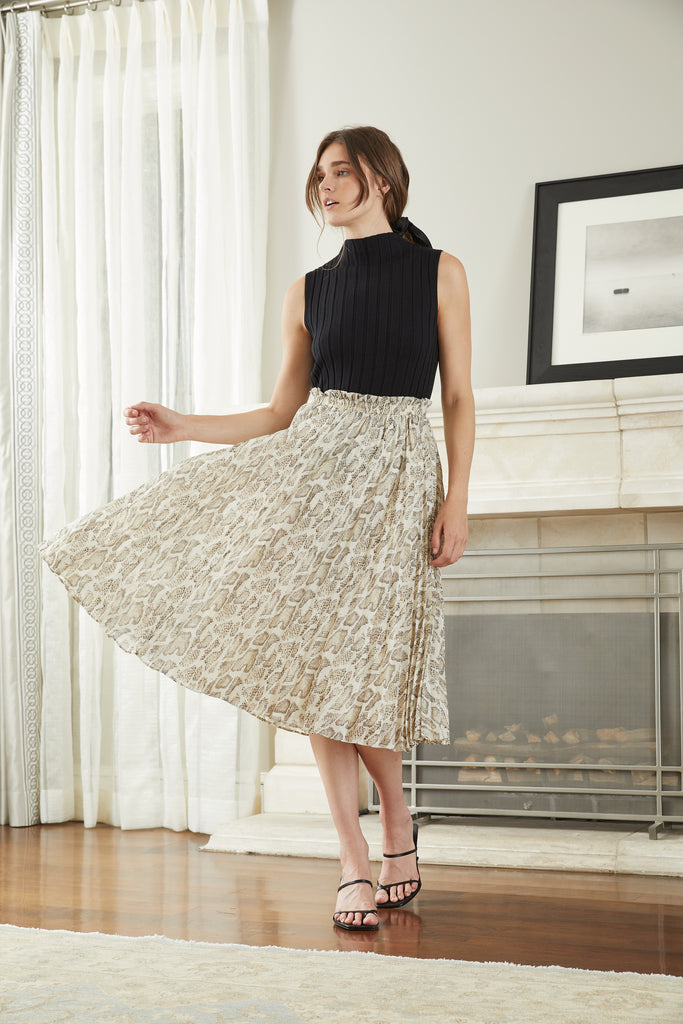 Cosette Pleated Skirt