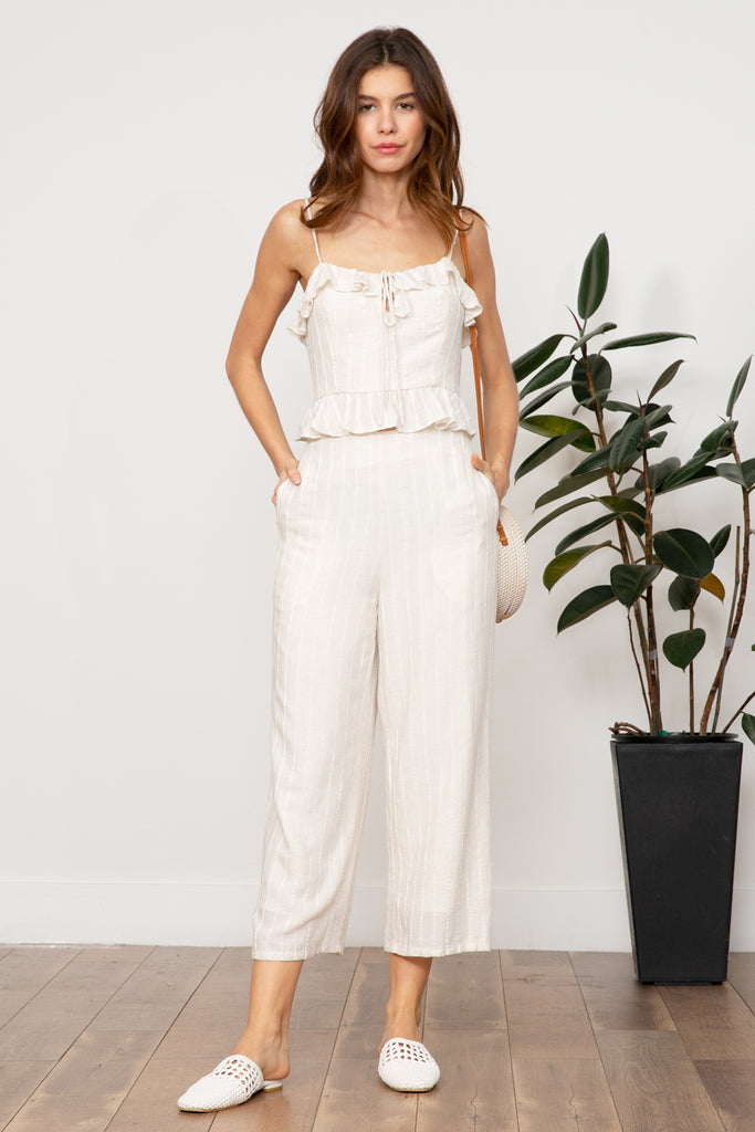 LUCY PARIS - Kaia Textured Pant