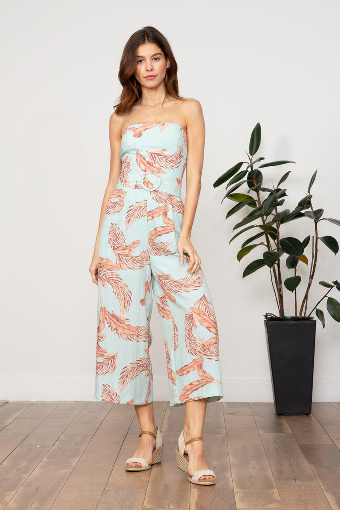 Lucy Paris - Maya Strapless Jumpsuit