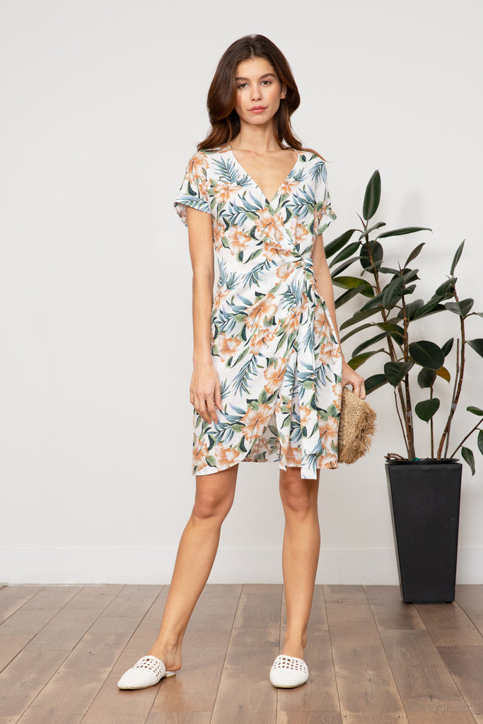 LUCY PARIS - Steffi Floral Dress