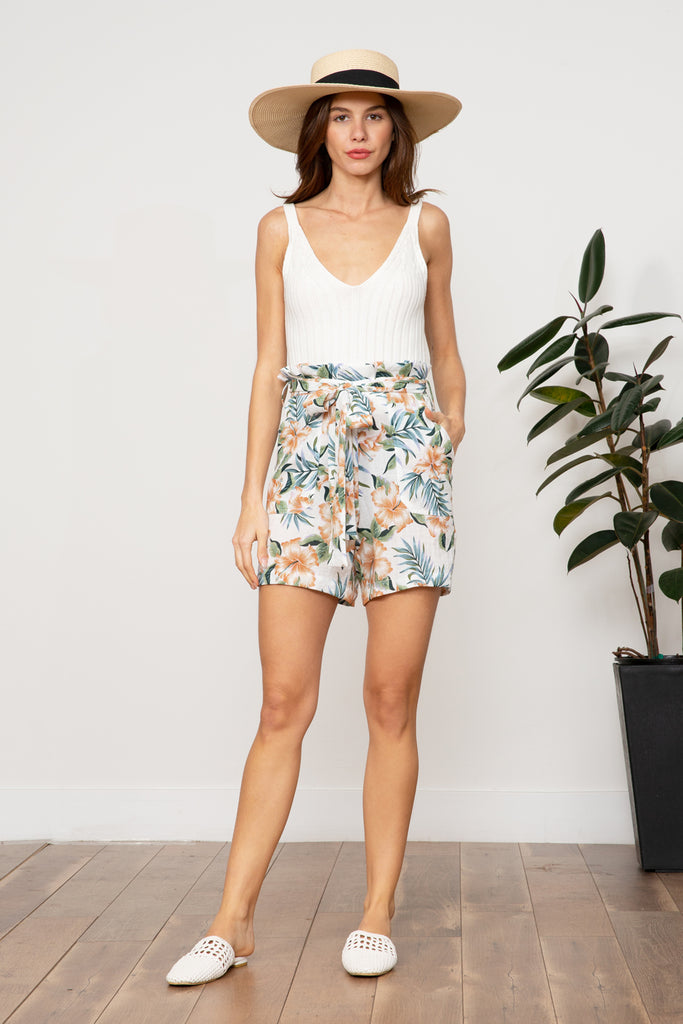 Lucy Paris - Steffi Floral Short