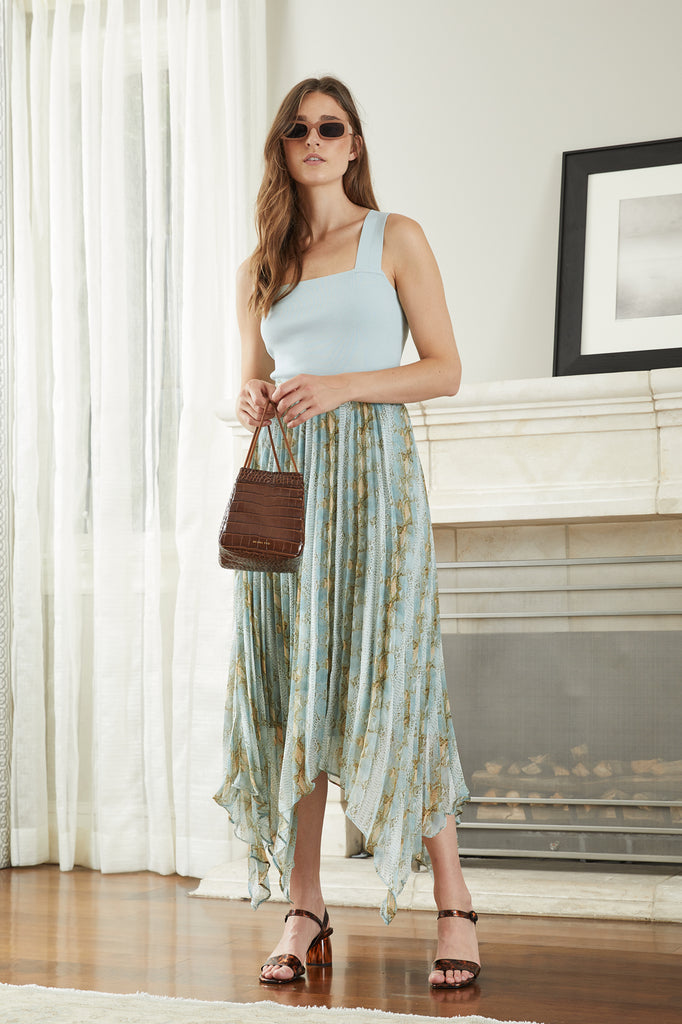 Marceline Pleated Skirt