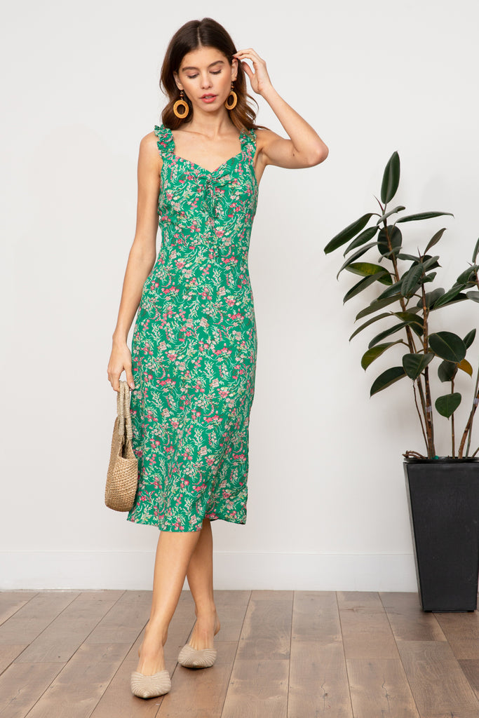 LUCY PARIS - Naomi Floral Dress