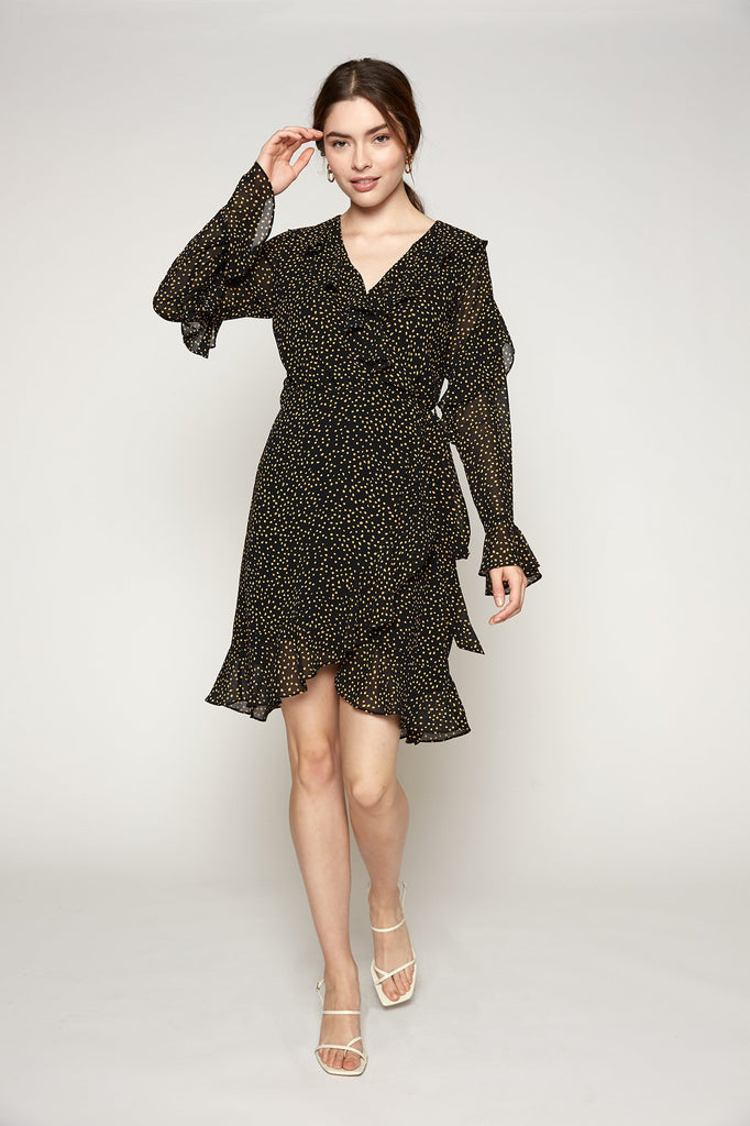 LUCY PARIS - Pascal Wrap Dress