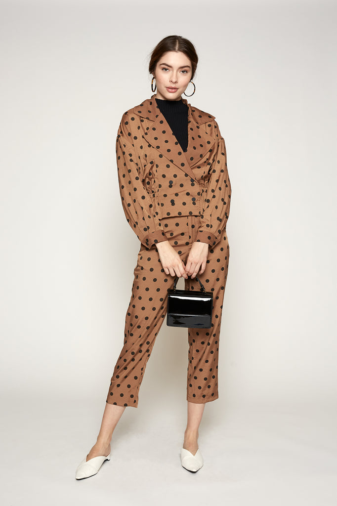 LUCY PARIS - Audrey Polka Dot Jacket