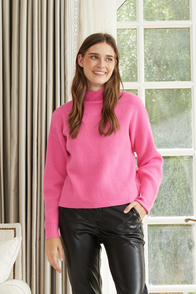 Lucy Paris - Pippa Turtle Neck Sweater