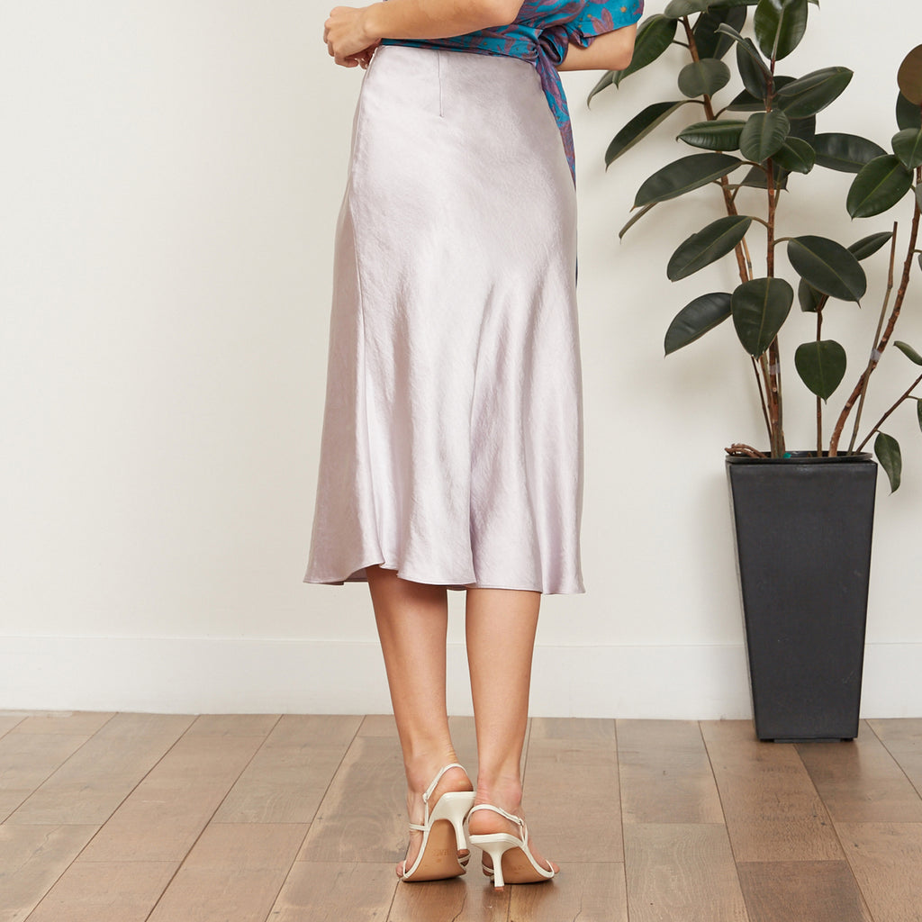 Rumi Satin Skirt