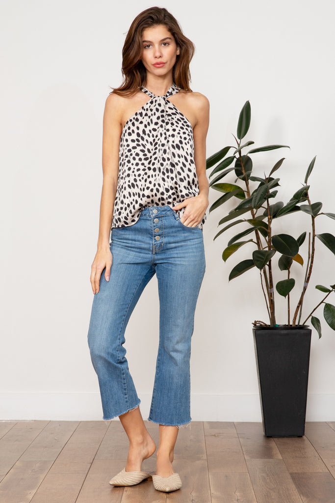 Sierra Animal Print Top