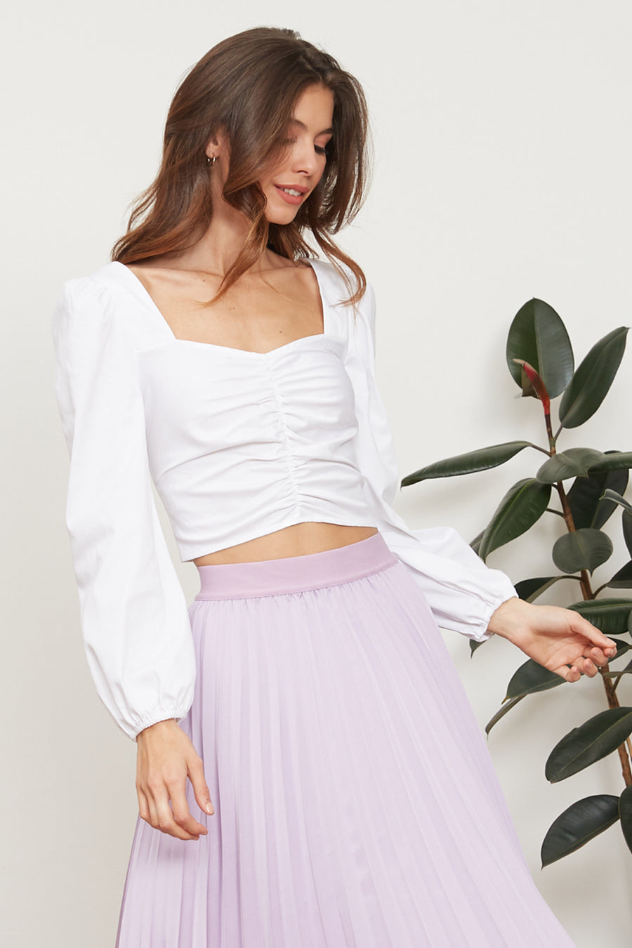 Soleil Ruched Top