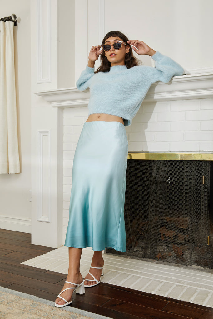 Teale Ombre Skirt