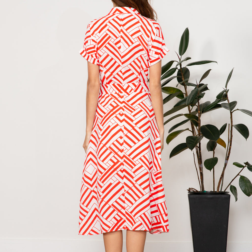 Tina Geometric Dress