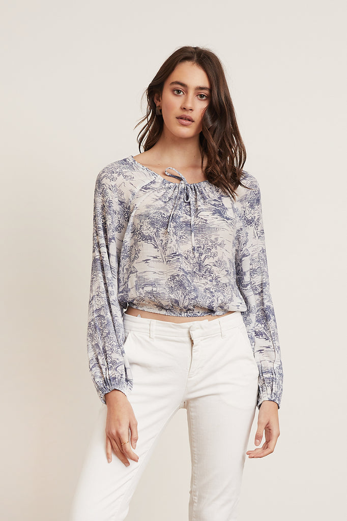 Willa Tie Top