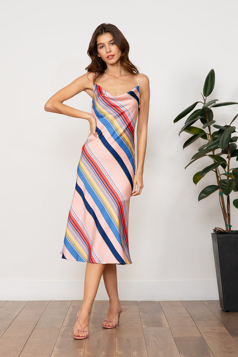 LUCY PARIS - Sienna Rainbow Dress
