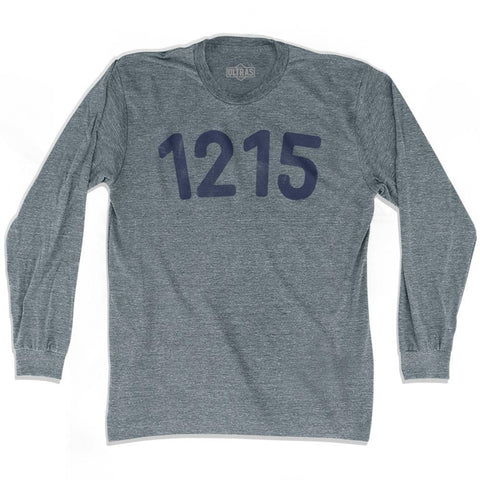1215 Year Celebration Adult Tri-Blend Long Sleeve T-shirt