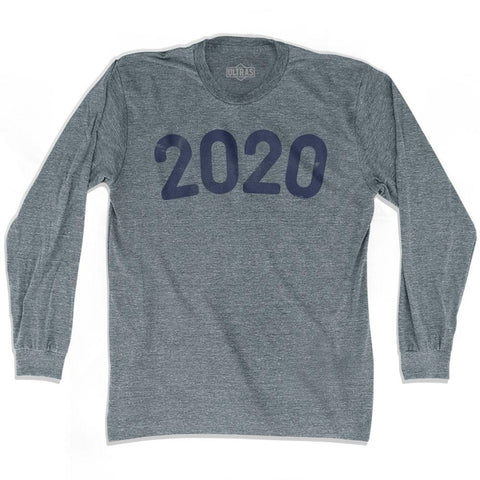 2020 Year Celebration Adult Tri-Blend Long Sleeve T-shirt
