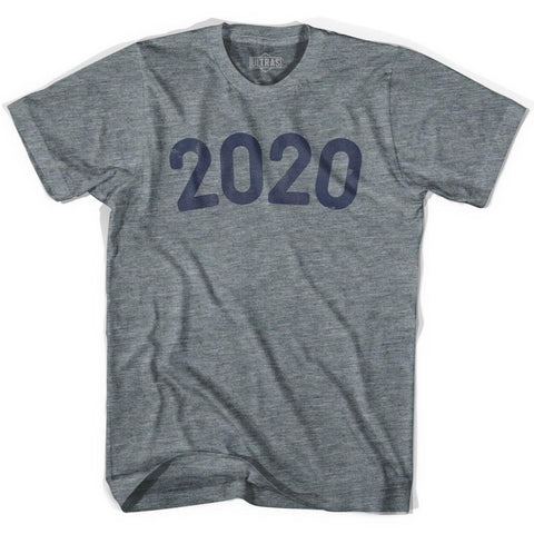 2020 Year Celebration Adult Tri-Blend V-neck Womens T-shirt