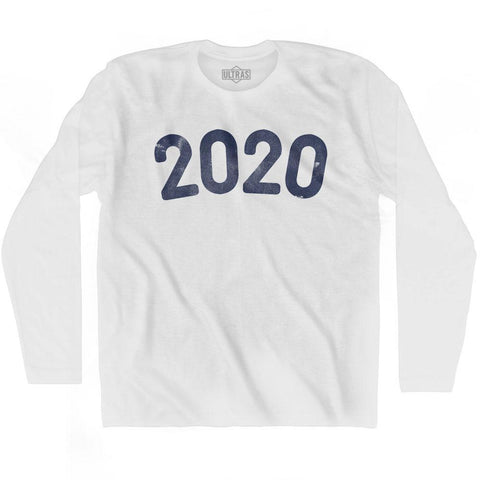 2020 Year Celebration Adult Cotton Long Sleeve T-shirt