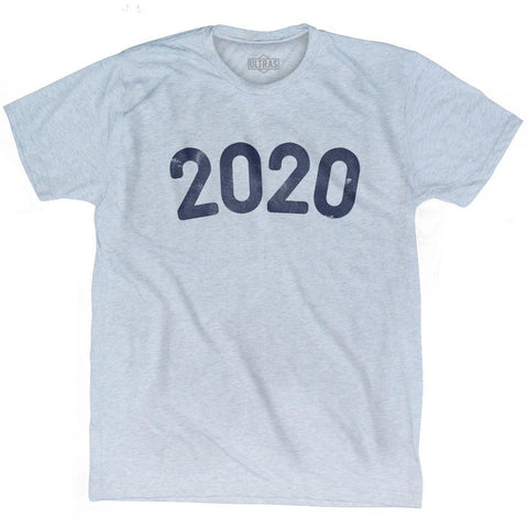 2020 Year Celebration Adult Tri-Blend T-shirt
