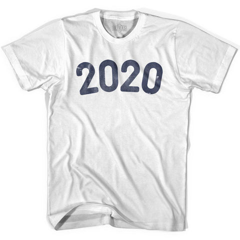 2020 Year Celebration Womens Cotton T-shirt
