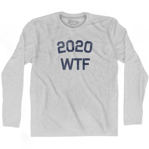 2020 Wtf Adult Cotton Long Sleeve T-Shirt