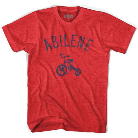 Abilene City Tricycle Adult Tri-Blend T-shirt