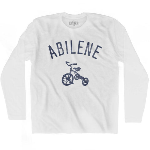 Abilene City Tricycle Adult Cotton Long Sleeve T-shirt