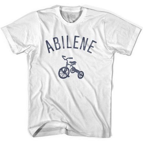 Abilene City Tricycle Womens Cotton T-shirt