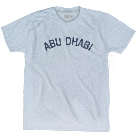 Abu Dhabi Vintage City Adult Tri-Blend T-shirt