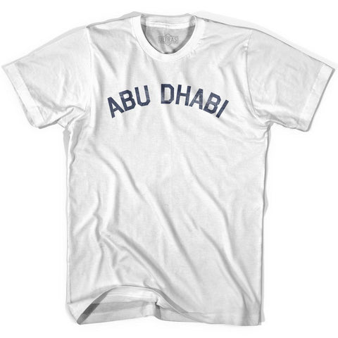Abu Dhabi Vintage City Adult Cotton T-shirt