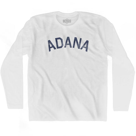 Adana Vintage City Adult Cotton Long Sleeve T-shirt