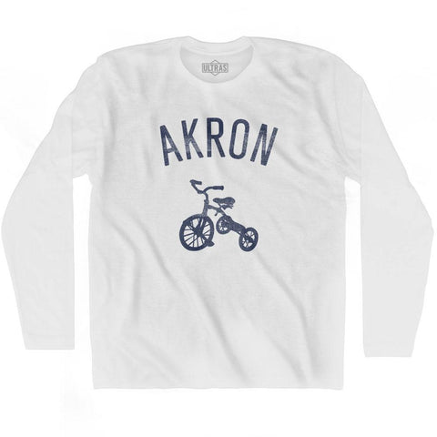 Akron City Tricycle Adult Cotton Long Sleeve T-shirt