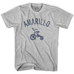 Amarillo City Tricycle Womens Cotton T-shirt by Ultras