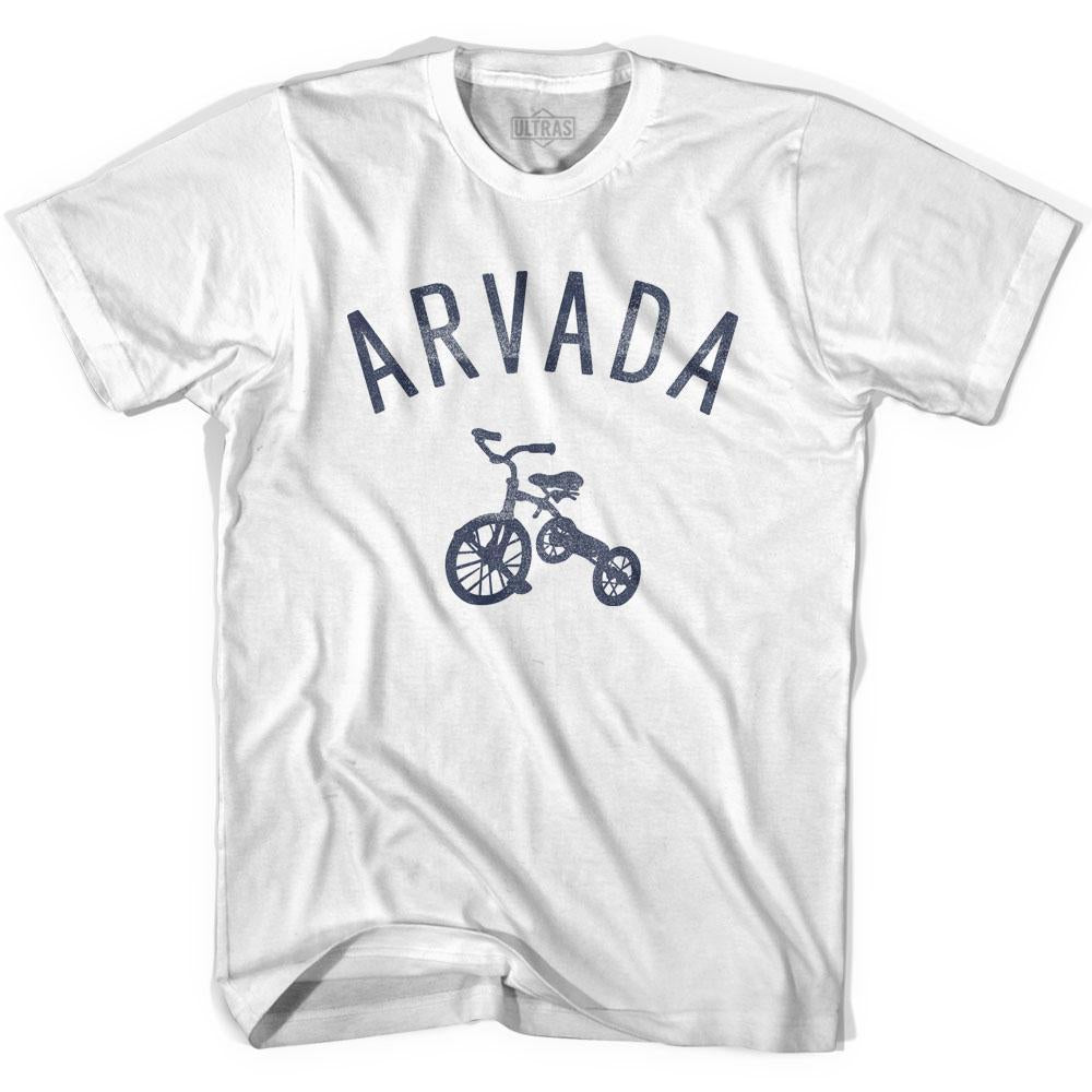 Arvada City Tricycle Youth Cotton T-shirt by Ultras