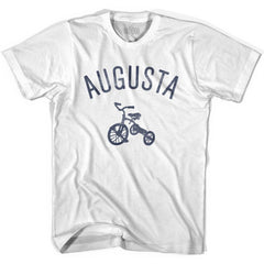 Augusta City Tricycle Womens Cotton T-shirt by Ultras