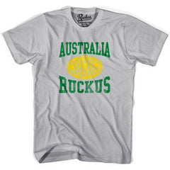 Australia Ruckus Rugby T-shirt in Cool Grey by Ruckus Rugby