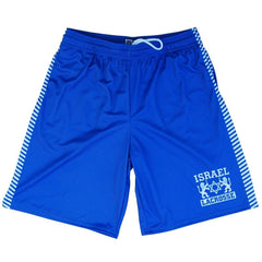 Israel Lacrosse Shorts in Navy by Tribe Lacrosse