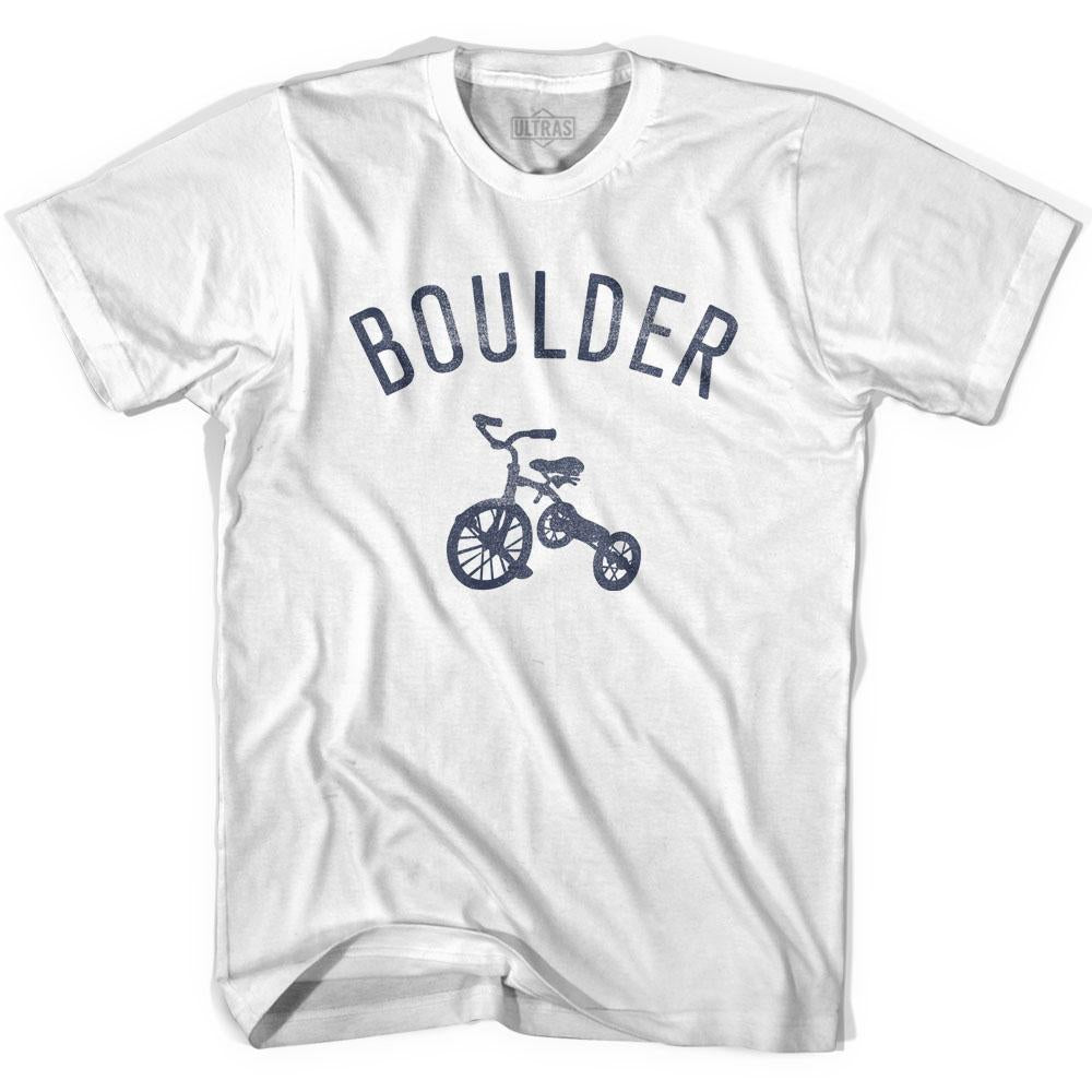 Boulder City Tricycle Youth Cotton T-shirt by Ultras