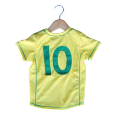 Brazil Toddler Soccer Jersey in Lemon by Ultras