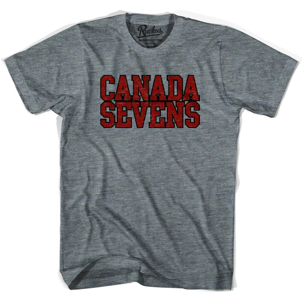 Canada Sevens Rugby T-shirt in Athletic Grey by Ruckus Rugby
