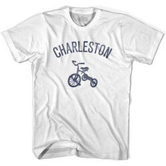 Charleston City Tricycle Womens Cotton T-shirt by Ultras