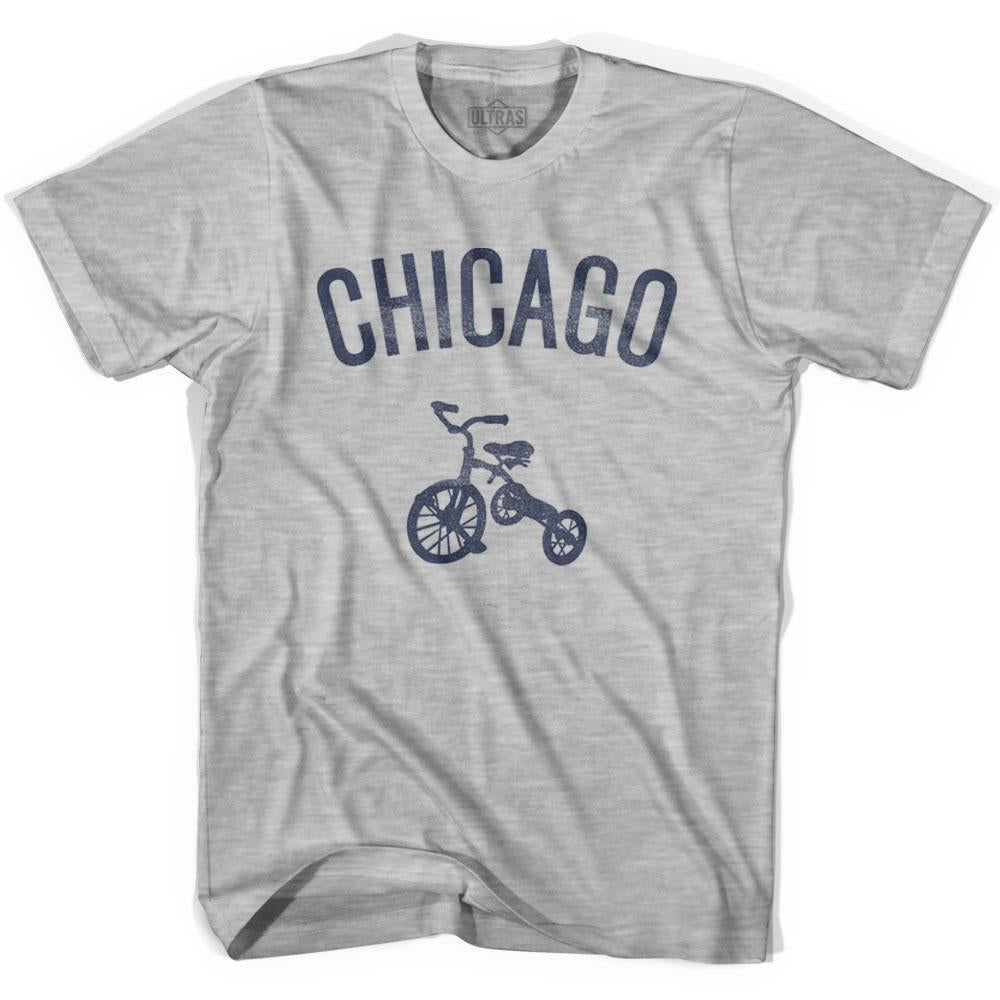 Chicago City Tricycle Youth Cotton T-shirt by Ultras
