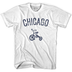 Chicago City Tricycle Womens Cotton T-shirt by Ultras