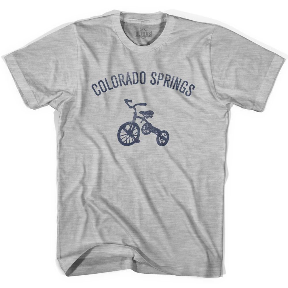 Colorado Springs City Tricycle Youth Cotton T-shirt by Ultras
