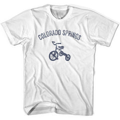 Colorado Springs City Tricycle Womens Cotton T-shirt by Ultras