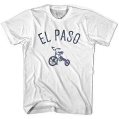 El Paso City Tricycle Womens Cotton T-shirt by Ultras