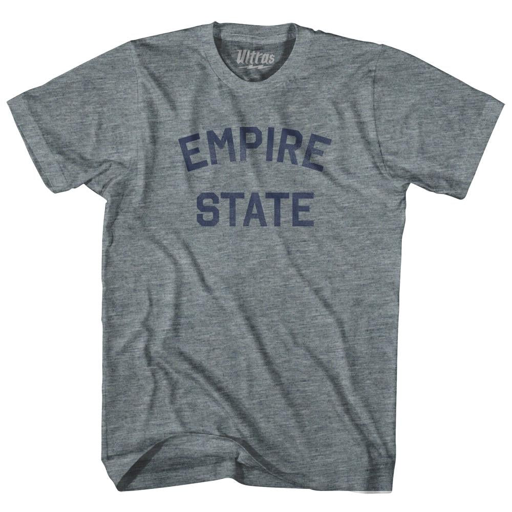 New York Empire State Nickname Youth Tri-Blend T-shirt by Ultras